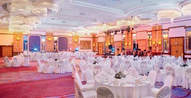 Kristalna dvorana, vjenčanje