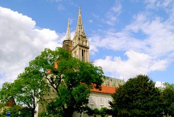 Zagrebačka katedrala - centar grada Zagreba