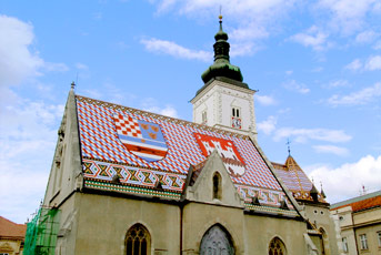 Crkva Svetog Marka, Gornji Grad, Zagreb