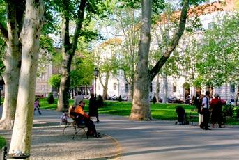 Trg i park N.Š. Zrinskog