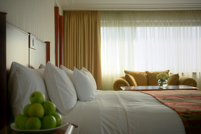 Deluxe apartman, Spavaća soba