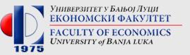 Економски факултет Универзитета у Бањој Луци Мајке Југовића 4